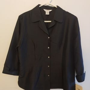 Allison Taylor 100% silk blouse with tags